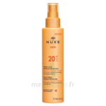 Spray Lacté Moyenne Protection  Spf20 Nuxe Sun150ml à Talence