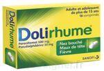 DOLIRHUME PARACETAMOL ET PSEUDOEPHEDRINE 500 mg/30 mg, comprimé à Talence