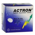 ACTRON, comprimé effervescent à Talence