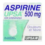 ASPIRINE UPSA 500 mg, comprimé effervescent à Talence