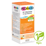 Pédiakid 22 Vitamines Et Oligo-eléments Sirop Abricot Orange 125ml à Talence
