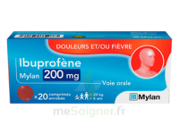 Ibuprofene Mylan 200 Mg, Comprimé Enrobé à Talence