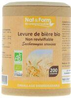 NAT&FORM ECO RESPONSABLE Levure de bière Bio Comprimés B/200 à Talence