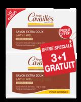 Rogé Cavaillès Savon Surgras Extra Doux Lait Et Miel 3x250g + 1 Offert à Talence