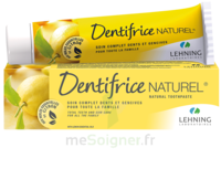 Lehning Pâte Dentifrice Homéopathique Citron T/80g à Talence