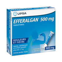 Efferalgan 500 Mg Glé En Sachet Sach/16 à Talence