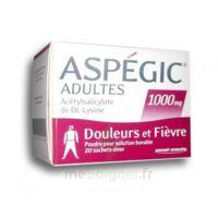ASPEGIC ADULTES 1000 mg, poudre pour solution buvable en sachet-dose 20 à Talence