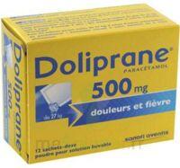 DOLIPRANE 500 mg Poudre pour solution buvable en sachet-dose B/12 à Talence