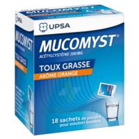 Mucomyst 200 Mg Poudre Pour Solution Buvable En Sachet B/18 à Talence