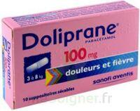 DOLIPRANE 100 mg Suppositoires sécables 2Plq/5 (10) à Talence
