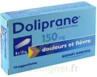 DOLIPRANE 150 mg Suppositoires 2Plq/5 (10) à Talence
