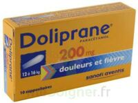 DOLIPRANE 200 mg Suppositoires 2Plq/5 (10) à Talence