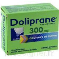 DOLIPRANE 300 mg Poudre pour solution buvable en sachet-dose B/12 à Talence