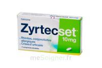 ZYRTECSET 10 mg, comprimé pelliculé sécable à Talence