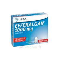 Efferalgan 1000 mg Comprimés pelliculés Plq/8 à Talence