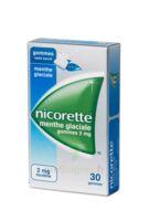 NICORETTE 2 mg Gom à mâcher médic sans sucre menthe glaciale Plq/30gom à Talence