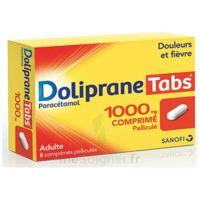 DOLIPRANETABS 1000 mg Comprimés pelliculés Plq/8 à Talence