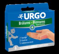URGO BRULURES-BLESSURES PETIT FORMAT x 6 à Talence