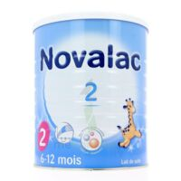NOVALAC LAIT 2, 6-12 mois BOITE 800G à Talence