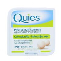 QUIES PROTECTION AUDITIVE CIRE NATURELLE 8 PAIRES à Talence