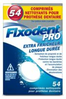 Fixodent Pro Comprimés Nettoyant Fraîcheur Longue Durée Pour Prothèse Dentaire B/54 à Talence