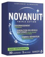 Novanuit Triple Action Comprimés B/30 à Talence