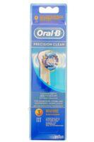 BROSSETTE DE RECHANGE ORAL-B PRECISION CLEAN x 3 à Talence