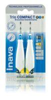 Inava Brossettes Tri Compact étroit  012 Noir 0,6mm/ Bleu 0,8mm/ Jaune 1mm à Talence