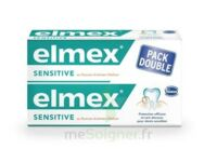 ELMEX SENSITIVE DENTIFRICE, tube 75 ml, pack 2 à Talence