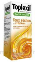 TOPLEXIL 0,33 mg/ml sans sucre solution buvable 150ml à Talence