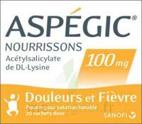 ASPEGIC NOURRISSONS 100 mg, poudre pour solution buvable en sachet-dose à Talence