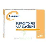 SUPPOSITOIRES A LA GLYCERINE COOPER Suppos en récipient multidose adulte Sach/25 à Talence