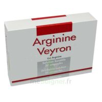 ARGININE VEYRON, solution buvable en ampoule à Talence