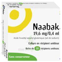 Naabak 19,6 Mg/0,4 Ml Collyre En Récipient Unidose 10unidoses à Talence
