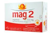 MAG 2 122 mg S buv en ampoule sans sucre édulcoré à la saccharine sodique 30Amp/10ml à Talence