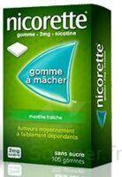 NICORETTE 2 mg Gom à mâcher médic sans sucre menthe fraîche Plq/30gom à Talence