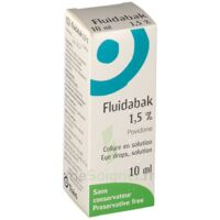 Fluidabak 1,5 %, Collyre En Solution à Talence