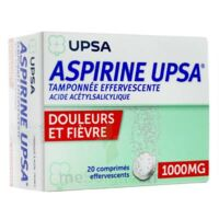 ASPIRINE UPSA TAMPONNEE EFFERVESCENTE 1000 mg, comprimé effervescent à Talence