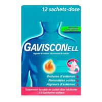 Gavisconell Suspension Buvable Sachet-dose Menthe Sans Sucre 12sach/10ml à Talence