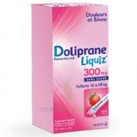 Dolipraneliquiz 300 mg Suspension buvable en sachet sans sucre édulcorée au maltitol liquide et au sorbitol B/12 à Talence