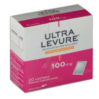 ULTRA-LEVURE 100 mg Poudre pour suspension buvable en sachet B/20 à Talence