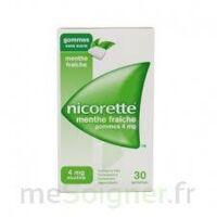 NICORETTE 4 mg Gom à mâcher médic sans sucre menthe fraîche Plq/30gom à Talence