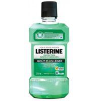 Listerine Protection Dents Gencives Bain Bouche Goût Plus Léger Fl/500ml à Talence