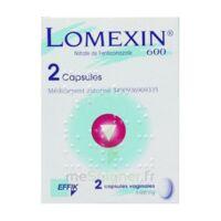 LOMEXIN 600 mg Caps molle vaginale Plq/2 à Talence