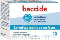 Baccide Lingette Désinfectante Mains & Surface 12 Pochettes à Talence