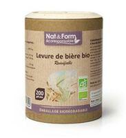 Nat&form Eco Responsable Levure De Bière Bio Gélules B/90 à Talence