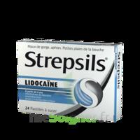 Strepsils lidocaïne Pastilles Plq/24 à Talence