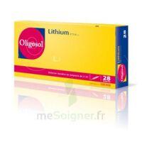 Oligosol Lithium Solution Buvable En Ampoule Ou En Récipient Unidose 28amp/2ml à Talence