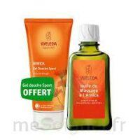 Weleda huile de massage arnica 200ml  + Gel douche OFFERT à Talence