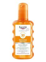 Eucerin Sun Sensitive Protect SPF30 Spray transparent corps 200ml à Talence